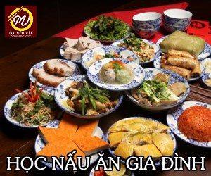 khóa học nấu ăn gia đình - Học Món Việt - Kênh thông tin giáo dục