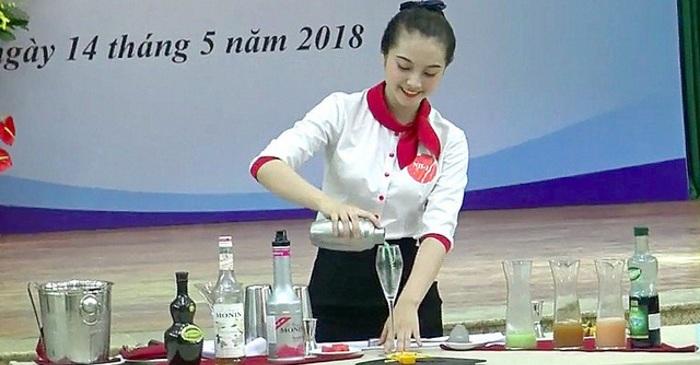thí sinh thi tay nghề Quốc Gia 2018_giaoducnghe