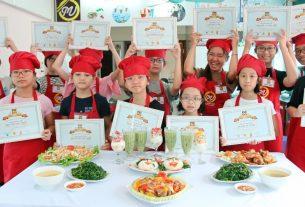 Trại hè nấu ăn trẻ em_giaoducnghe