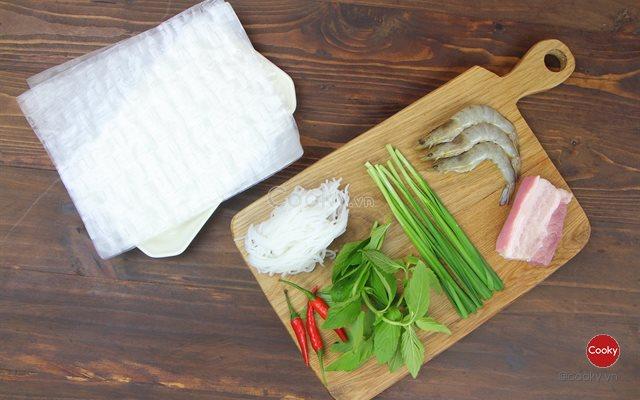 nguyên liệu gỏi cuốn tôm thịt_giaoducnghe.edu.vn