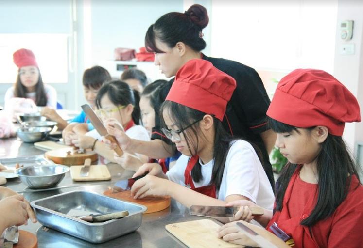lớp nấu ăn_giaoducnghe