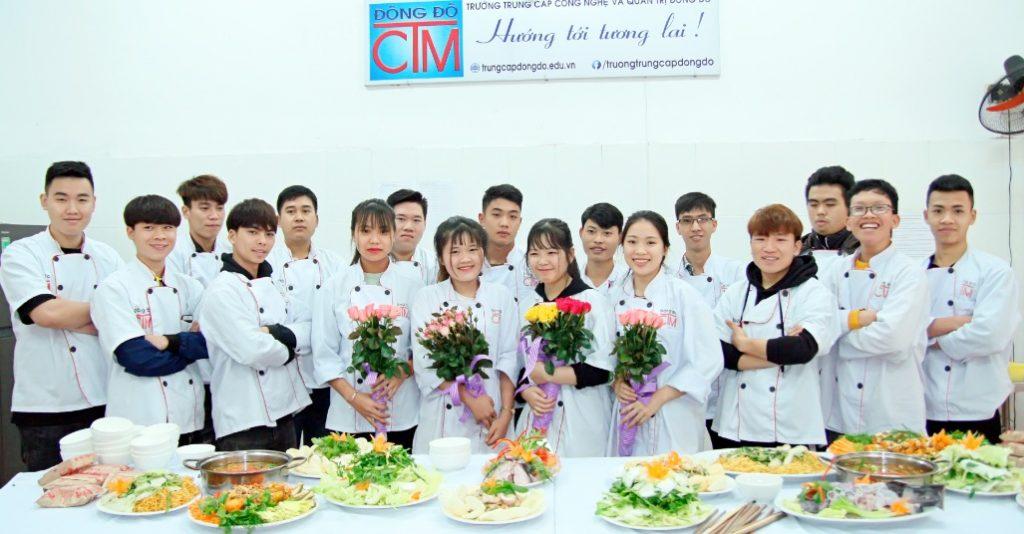 Lớp trung cấp nấu ăn_giaoducnghe.edu.vn