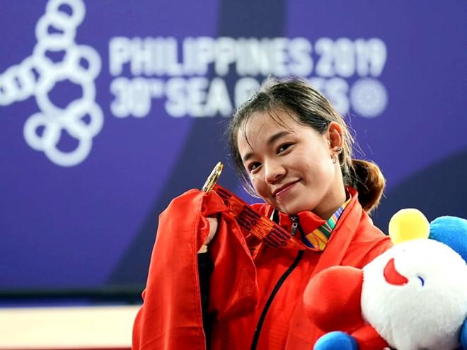 Phạm Thị Hồng Thanh seagame 30 giáo dục nghề