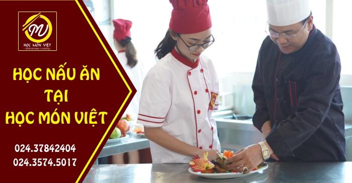 học nấu ăn tại học món việt giáo dục nghề