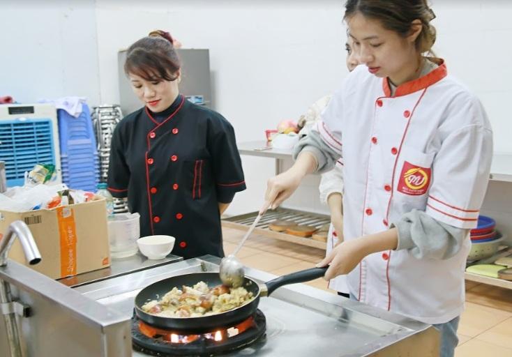 học nấu ăn gia đình giáo dục nghề