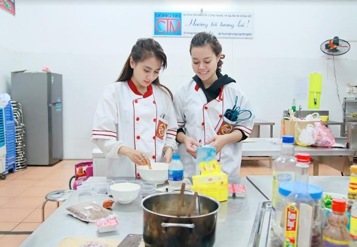 nấu ăn gia đình giáo dục nghề