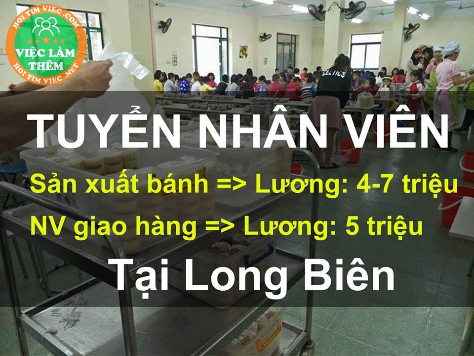 Công ty TNHH thực phẩm và dịch vụ ăn uống Phước Thịnh tuyển dụng