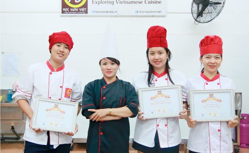 khóa học nấu ăn gia đình tại Học Món Việt_Giáo dục nghề