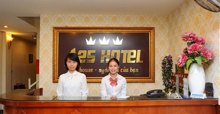 Tập đoàn khách sạn A25 tuyển Lễ tân – Hành chính văn phòng