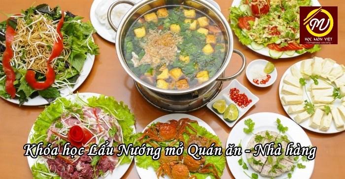 Học Lẩu Nướng mở quán ăn, nhà hàng