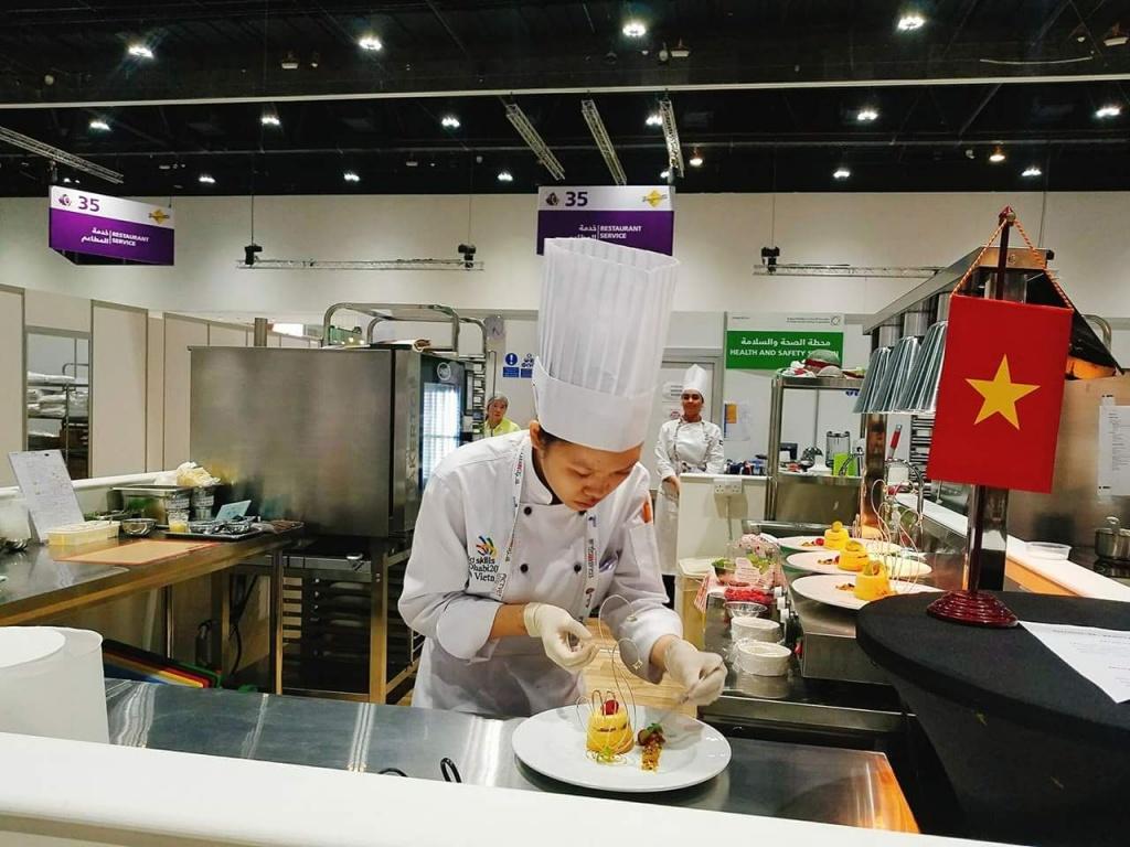Vũ Hoàng Trinh: Cô gái với 'đôi tay vàng' chinh phục thành công từ nghề bếp