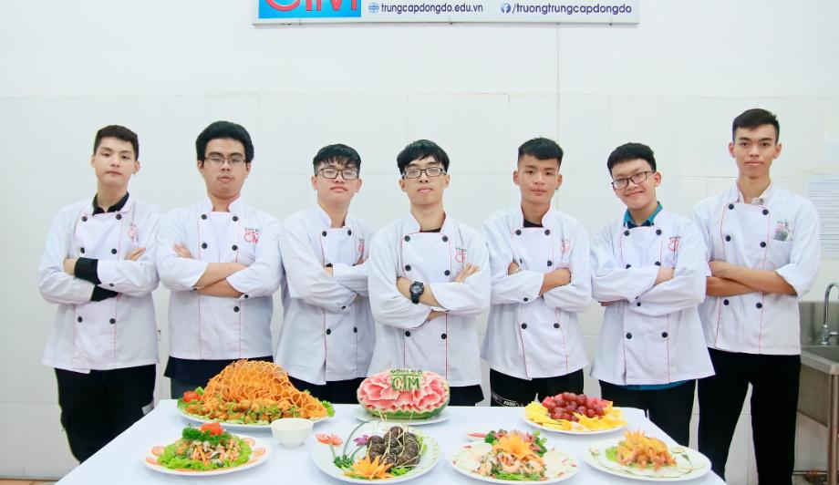 học nghề đầu bếp có tương lai không_giáo dục nghề