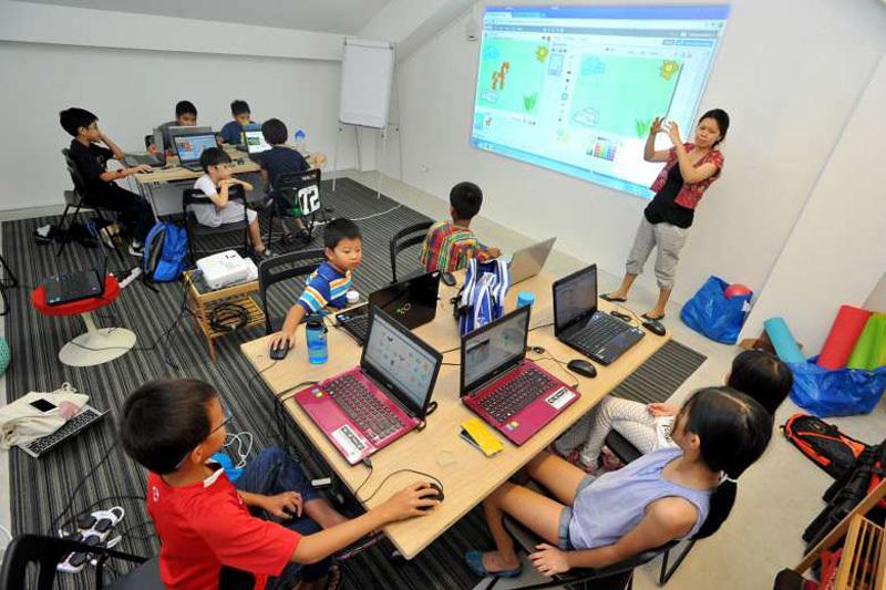 trẻ em học lập trình_giaoducnghe