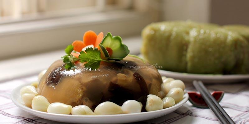 Cách làm món thịt đông đúng điệu ngày Đông