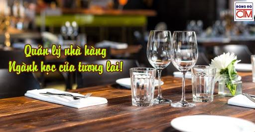 Học quản lý nhà hàng – ngành học thu hút giới trẻ