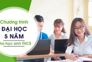 Chương trình đại học 5 năm cho đối tượng tốt nghiệp thcs.giaoducnghe.edu.vn