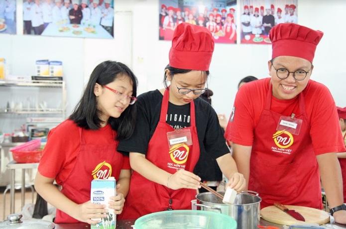 khóa học nấu ăn trẻ em giaoducnghe1