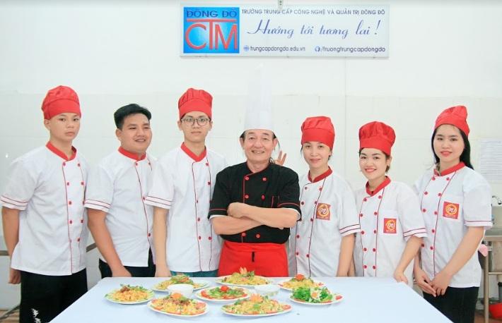 Học trung cấp nấu ăn_giaoducnghe