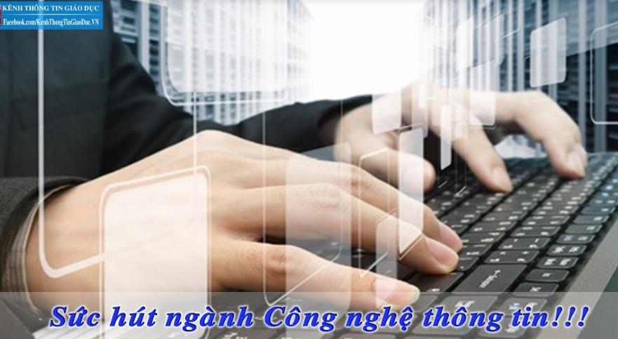sức hút của ngành công nghệ thông tin_giaoducnghe