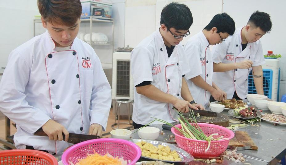 nghề bếp giáo dục nghề