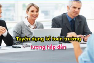 tuyển dụng kế toán trưởng lương hấp dẫn giáo dục nghề