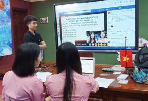 dạy học trực tuyến giáo dục nghề