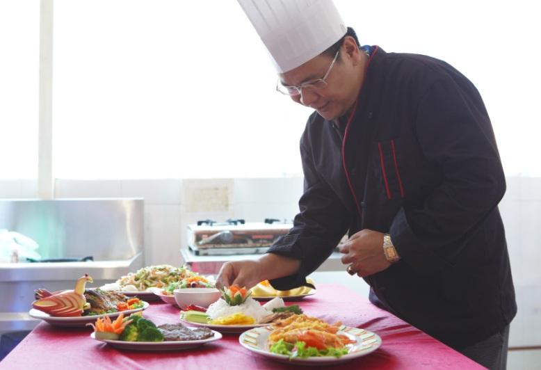 lớp học nấu ăn online