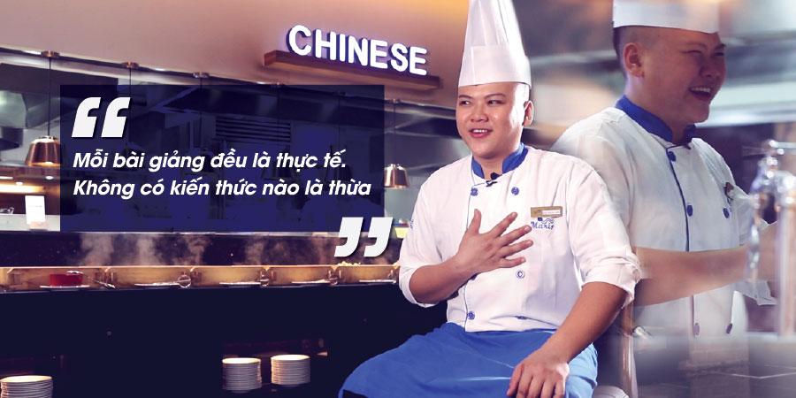 Chef Trần Trung Hiếu – làm bếp phải đặt cái tâm lên đầu