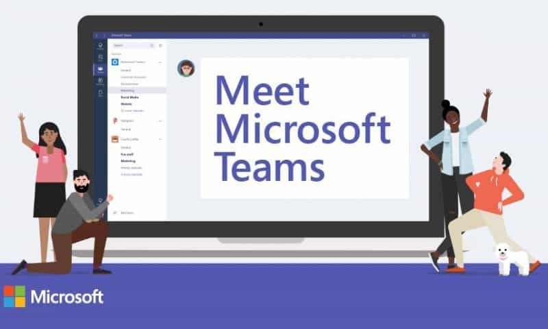 phần mềm microsoft team giáo dục nghề