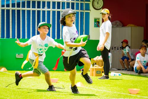 tham gia các hoạt động thể thao giáo dục nghề