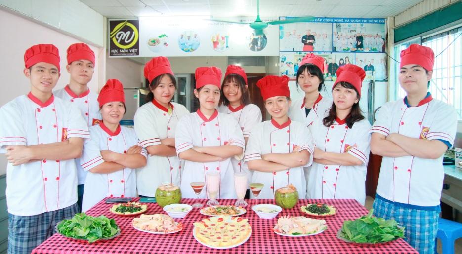 lớp nấu ăn gia đình_giáo dục nghề