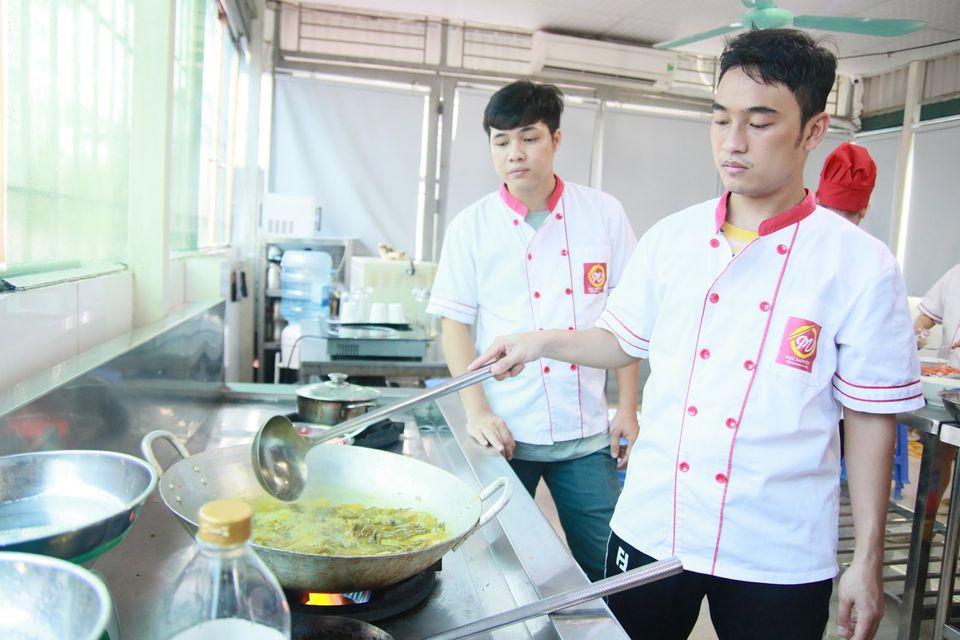 khóa đầu bếp Việt tại học món việt giáo dục nghề