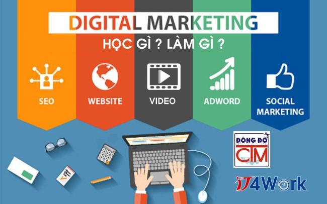học digital marketing giáo dục nghề
