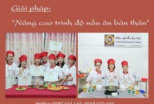 giải pháp nấu ăn gia đình