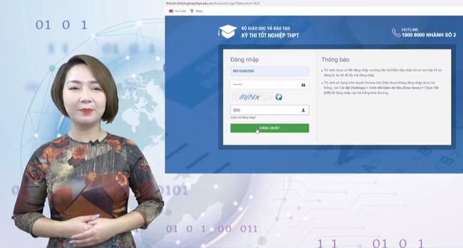 Hướng dẫn chi tiết đăng ký xét tuyển Đại học 2021 trực tuyến