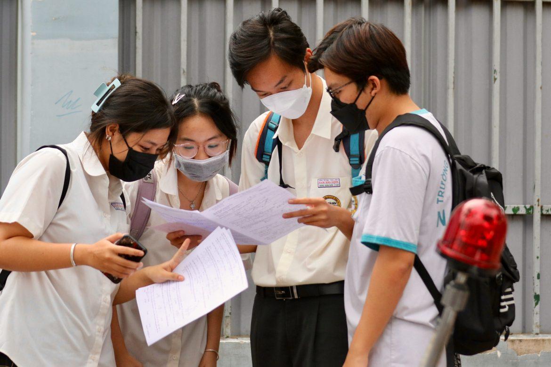Đáp án các môn thi trắc nghiệm trong kỳ thi THPT Quốc Gia đợt 1