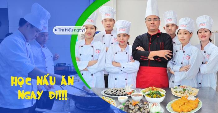 banner học trung cấp nấu ăn trường Trung cấp Công nghệ và Quản trị Đông Đô